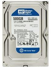 Western Digital WD5000AAKX Blue 500GB 16MB Cache Internal Hard Drive